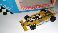 Formel 1 F1 Renault Turbo RE20 GP Brasil 1980 Winner Arnoux #16, YAXON 1:43 box!