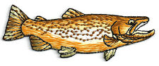 Fishing - Golden Trout - Sport - Camping - Embroidered Iron On Patch