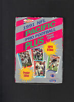 1991 NFL Pacific Plus Series 1 Pro Football lot of 4 boxes Premier Edition