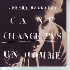 CD 2 titres JOHNNY HALLYDAY *** CA NE CHANGE PAS UN HOMME  **   n°225