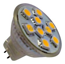 MR11 9 SMD LED 12V (10-30V DC) 110LM 1.8W Warm White Bulb (~20W)