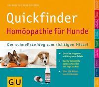 Quickfinder Homöopathie für Hunde von Elke Fischer (2012, Taschenbuch)