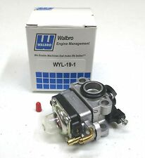 New OEM Walbro WYL-19 / WYL-191 / WYL-19-1 CARBURETOR Carb Echo A021002190