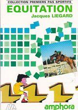 Equitation - Jacques Liegard - Enfants - Cheval