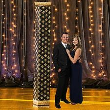 TRES CHIC COLUMN * paris theme decorations * standees * prom * standups
