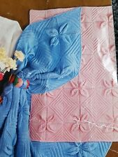 KNITTING PATTERN for Baby Blanket for Pram Cot and a shawl DK/4PLY/3PLY