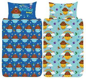 Hey Duggee Hug Junior Cot Duvet Cover Reversible Bedding Set