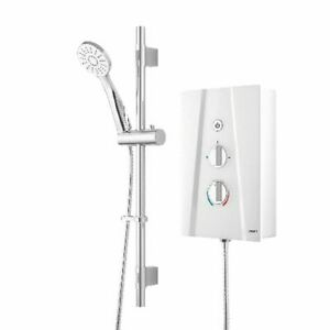 Bristan Hydro Ultra Electric Slimline Shower Kit White/Chrome 10.5kW - RRP £90