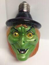 "Dept 56 Halloween ""Witch Fright Light Bulb"""