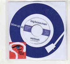 (HE217) Big Boss Man, Aardvark - 2014 DJ CD