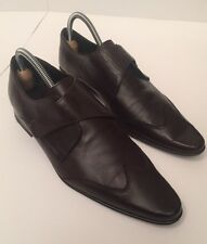 ZARA -  SMART  mens brown Shoes size 8 UK