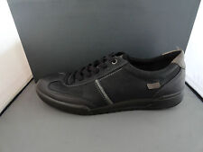 NEW ECCO FRASER LACE MEN'S LEATHER COMFORT SHOES BLACK