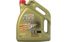 CASTROL EDGE TITANIUM Long Life 04 Sintético SAE 5W40 Aceite de Motor 5L 14C10C