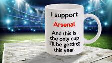 Arsenal mug funny joke gift humour rival football team premier cup work office