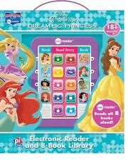 DISNEY PRINCESS DREAM BIG ELECTRONIC ME READER ACTIVITY PAD and 8 BOOK LIBRARY