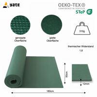 Yate Einschicht-Isomatte Camping Matte Gymnastikmatte Sport Unterlage 12mm stark