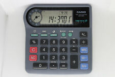 CASIO QA-300 Calculator with CLOCK, 100% working, ultrarare, vintage collectible