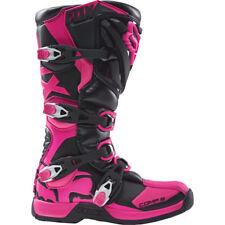 FOX RACING WOMENS ADULT OFFROAD COMP 5 BOOT MX ATV MOTOCROSS Black/Pink 8