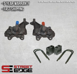 """Street Edge Lowering Kit for 1984-1995 Toyota Pickup 2WD 2"""" Front & 3"""" Rear"""