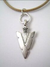 mens boys arrow head tribal Pendant necklace