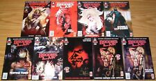 Brodie's Law #1-7 VF/NM complete series + 2 signed variants - alan grant - pulp