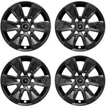 "17"" Black Wheel Skins FOR 2019 2020 Chevy Silverado GMC Sierra NEW Model ONLY"