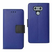 Reiko LG G6 3-In-1 Wallet Case In Navy | MaxStrata