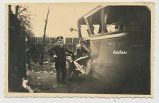Foto Unfall-Crash Deutsche-Reichspost 30er Jahre (2397)