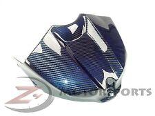 BLEMISH 2009-2014 Yamaha R1 Gas Tank Air Box Cover Fairing Carbon Fiber Blue