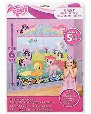 My Little Pony Birthday Party Scene Setter Wall Decorating Kit