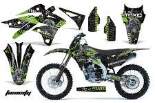 AMR Racing Kawasaki KX250 Graphic Number Plate Kit Bike Decal MX Part 13-15 TOX