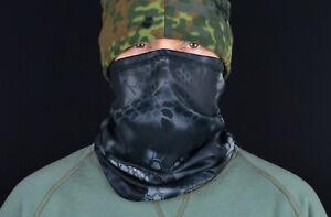 Neck Gaiter. New Neck Gaiter Scarf Face Mask Balaclava in Black Python Camo