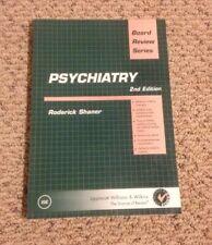 Board Review: BRS Psychiatry by Roderick Shaner USMLE Medicine Medical Prep 2e