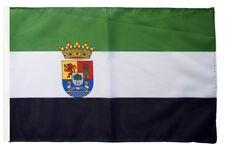 Spanien Extremadura Banner extremadurische Fahnen Flaggen 30x45cm
