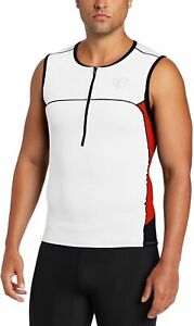 Pearl Izumi Men's ELITE In-R-Cool Triathlon Tri Sleeveless Jersey (Small)