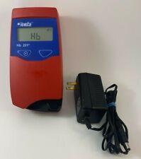 HemoCue  HB 201+ Hemoglobin Analyzer w/ power supply
