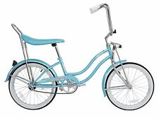 "Micargi 20"" Lowrider Beach Cruiser Bicycle Bike Low Rider Girls frame Baby Blue"