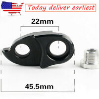 US Rear Derailleur Hanger Extender Gear Frame Cassette Adapter Bike Tail Hook