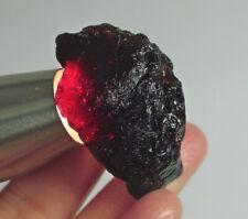 205Ct Natural Garnet Rhodolite Facet Rough Specimen YWE2781