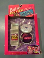 Rare Barbie Vintage Snap N Store Quilted Hat Box New