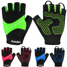 Men's Summer Sports Cycling Gloves Half Finger Bike GEL Non-slip Glove S-XL New