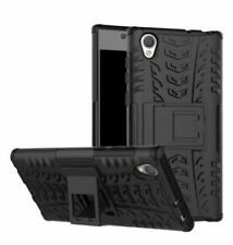 For Sony Xperia L1,L2,L3,XZ3-Hybrid Heavy Duty Shockproof Hard Stand Cover Case