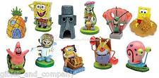 NICKLODEON'S SPONGEBOB SQUAREPANTS - Aquarium Ornament Decoration Krabs Patrick