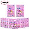 30 PCS Baby Cute Shark Party Gift Bags, Shark Candies Bags Party Supplies for
