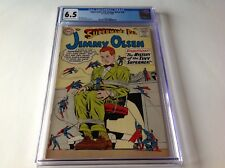 SUPERMANS PAL JIMMY OLSEN 48 CGC 6.5 TINY SUPERMEN COVER CURT SWAN DC COMICS