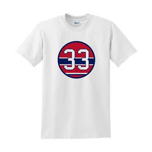 Patrick Roy Shirt |Number 33 White 100% Cotton shirt |Montreal Canadiens shirt