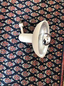 STAFF Strahler Spot Reflektor  weiß für Stromschiene 70er Vintage  L1 Teak