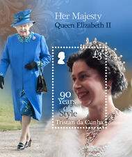 Tristan da Cunha 2016 Queens 90th Birthday 1v MS MNH