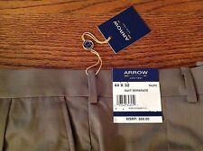 NWT Men's Arrow Dress Pant Suit Seperate Taupe Size W 44 L 32 Retail $60.00