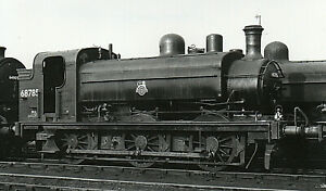 Ex LNER 0-6-0T Class J52 No 68785 at Doncaster MPD 21/3/54 R/Photo